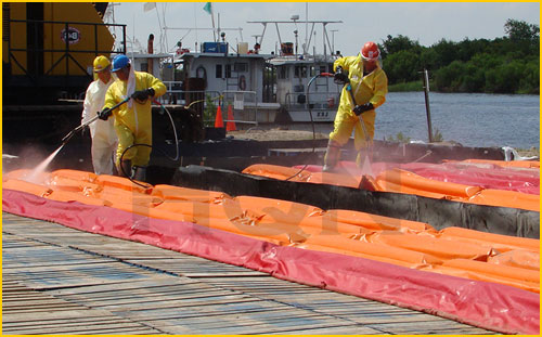 spill berms for decon in canada